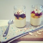 Mango Chia Puddings