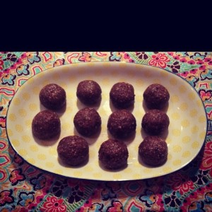 Chocolate Almond Bliss Balls