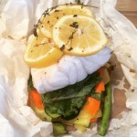Baked Fish and Veggie Parcels