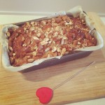 Maple Almond Crusted Banana Bread