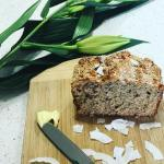 Wholemeal Banana Coconut Bread